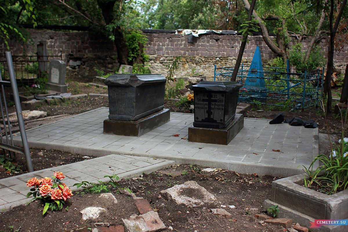 Старое кладбище Таганрога. Участок Кобылиных