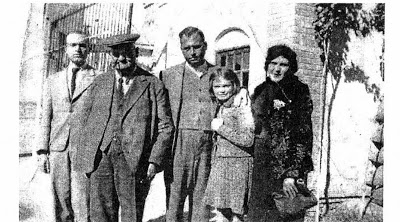 Старое кладбище Таганрога: Герман Базенер с семьей после отъезда из России в Персию в 1916 году