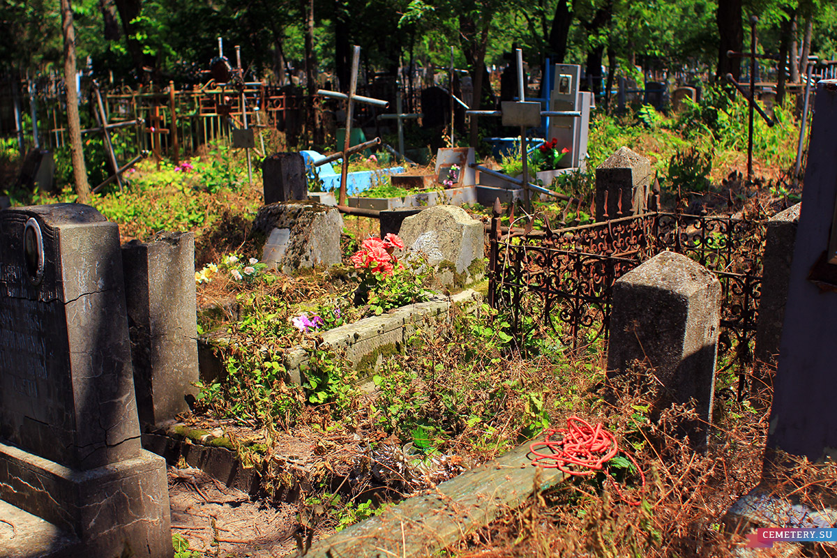 Старое кладбище Таганрога. Участок доктора Шимановского