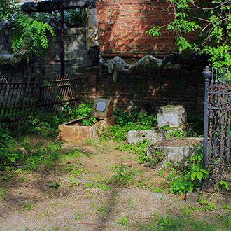 Старое кладбище Таганрога, Участок Новарного, Каплина