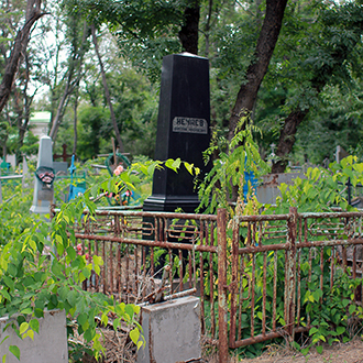 Старое кладбище Таганрога, Участок Нечаевых