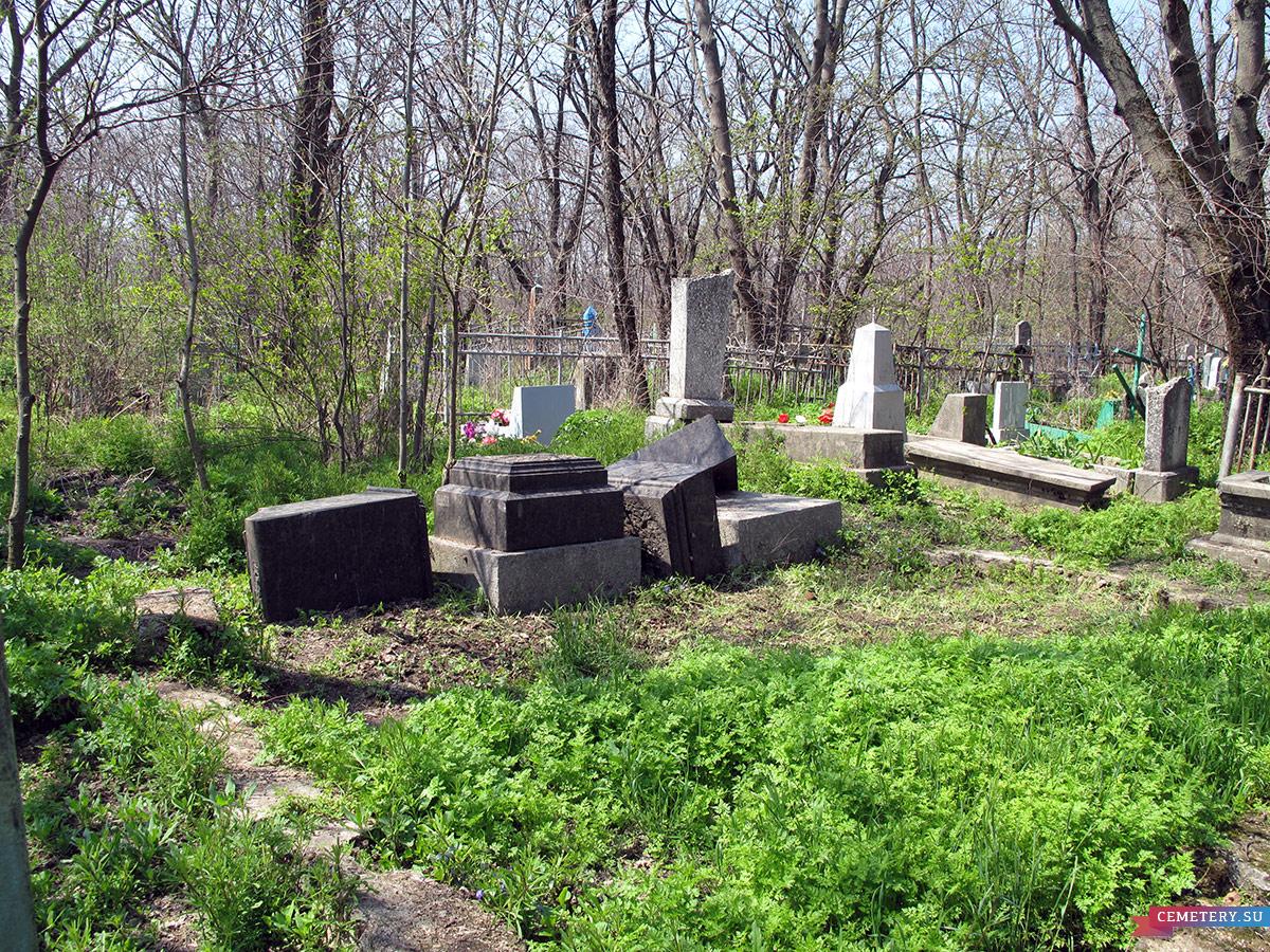 Старое кладбище Таганрога. Участок Егоровых