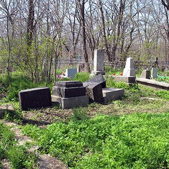 Старое кладбище Таганрога, Участок Егоровых