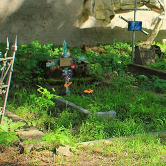 Старое кладбище Таганрога, Участок Багинского
