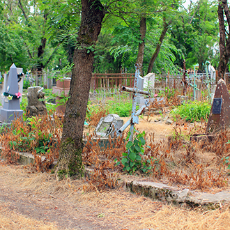 Старое кладбище Таганрога, Участок Иордановых