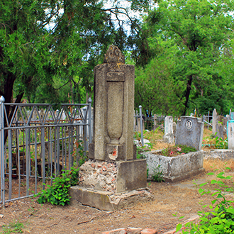 Старое кладбище Таганрога. Красноармеец