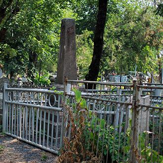 Старое кладбище Таганрога, Участок Яхненко