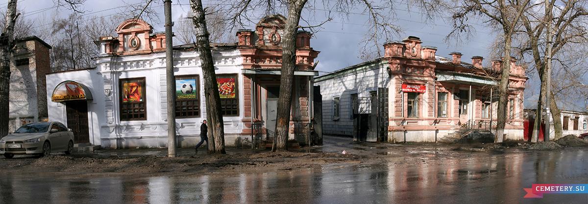 Старое кладбище Таганрога: Дома Базенер