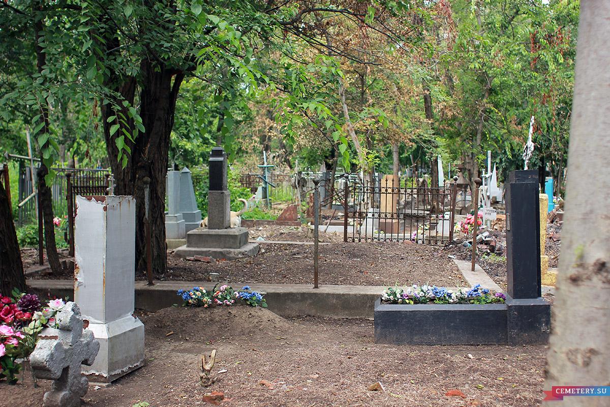 Старое кладбище Таганрога. Участок семьи священника Ильченко