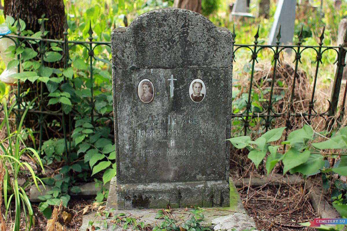 Старое кладбище Таганрога. Луневы