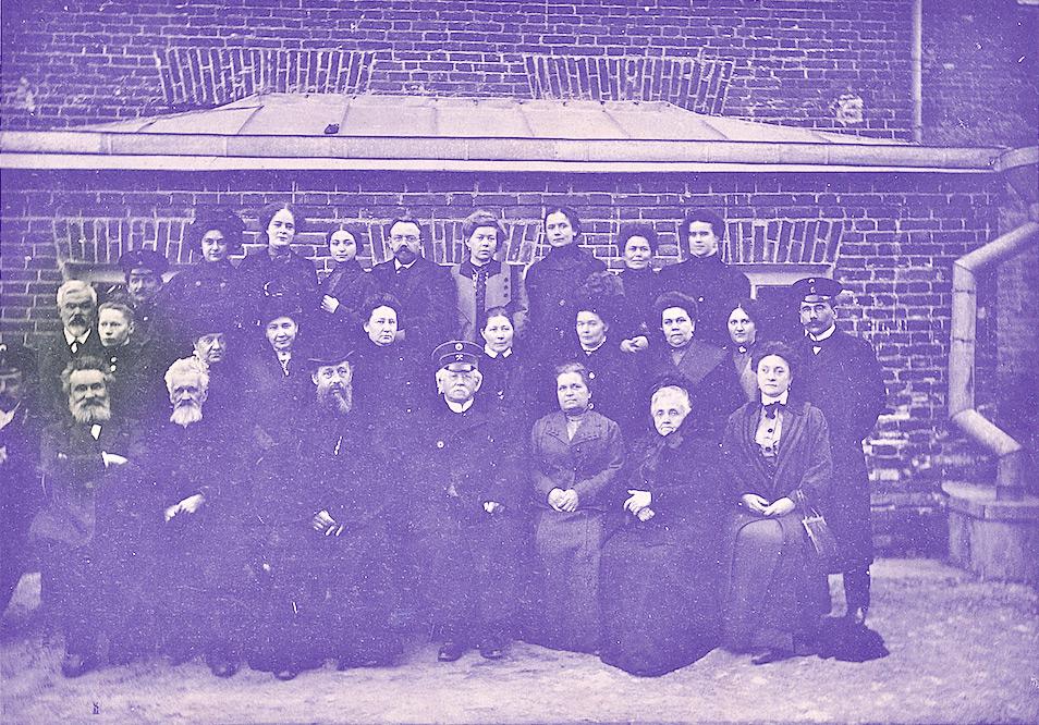 Старое кладбище Таганрога: Из выпускного альбома Мариинской гимназии 1912 года