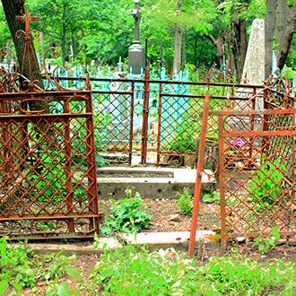 Старое кладбище Таганрога. Инженер Ковалевский