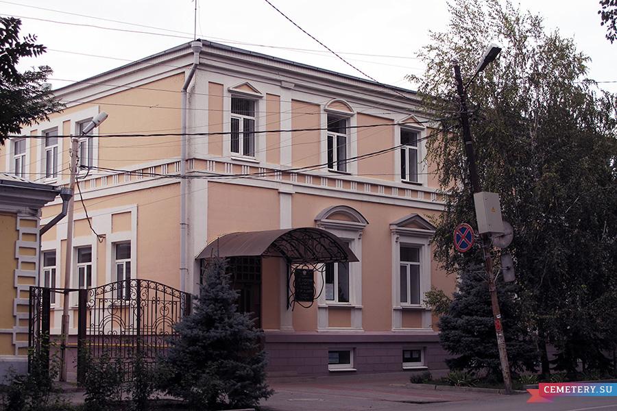 Старое кладбище Таганрога: Дом, принадлежавший Котопули Ф. Д. (переулок Итальянский, дом 36)