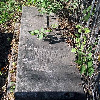 Старое кладбище Таганрога. Остерман В. В.