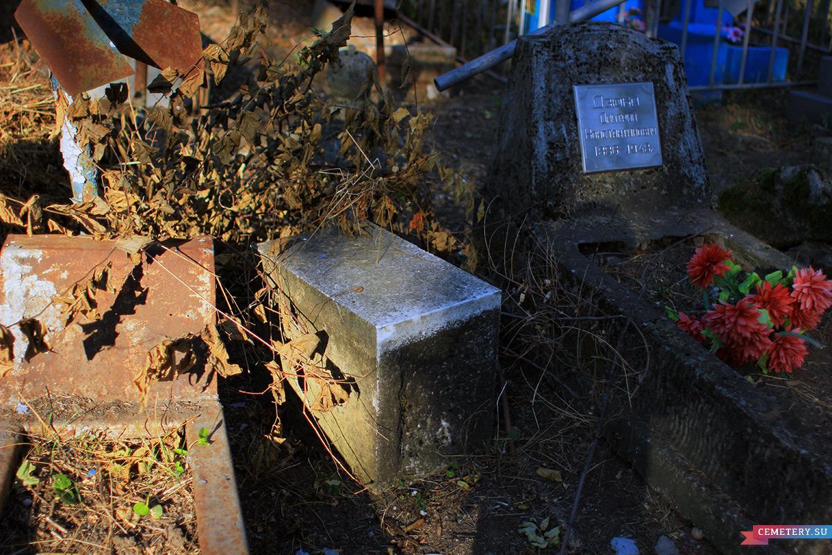 Старое кладбище Таганрога. Гречанка Елена