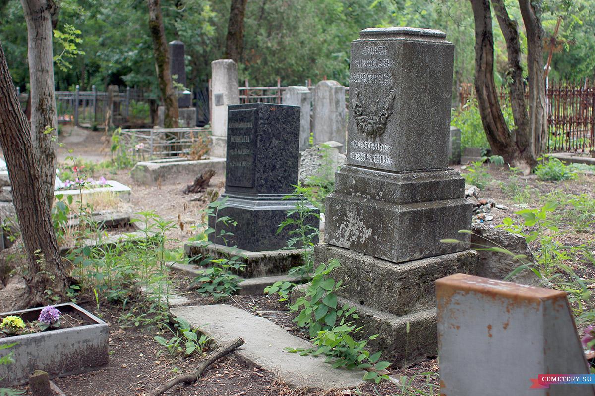 Старое кладбище Таганрога. Участок Мелентьевых