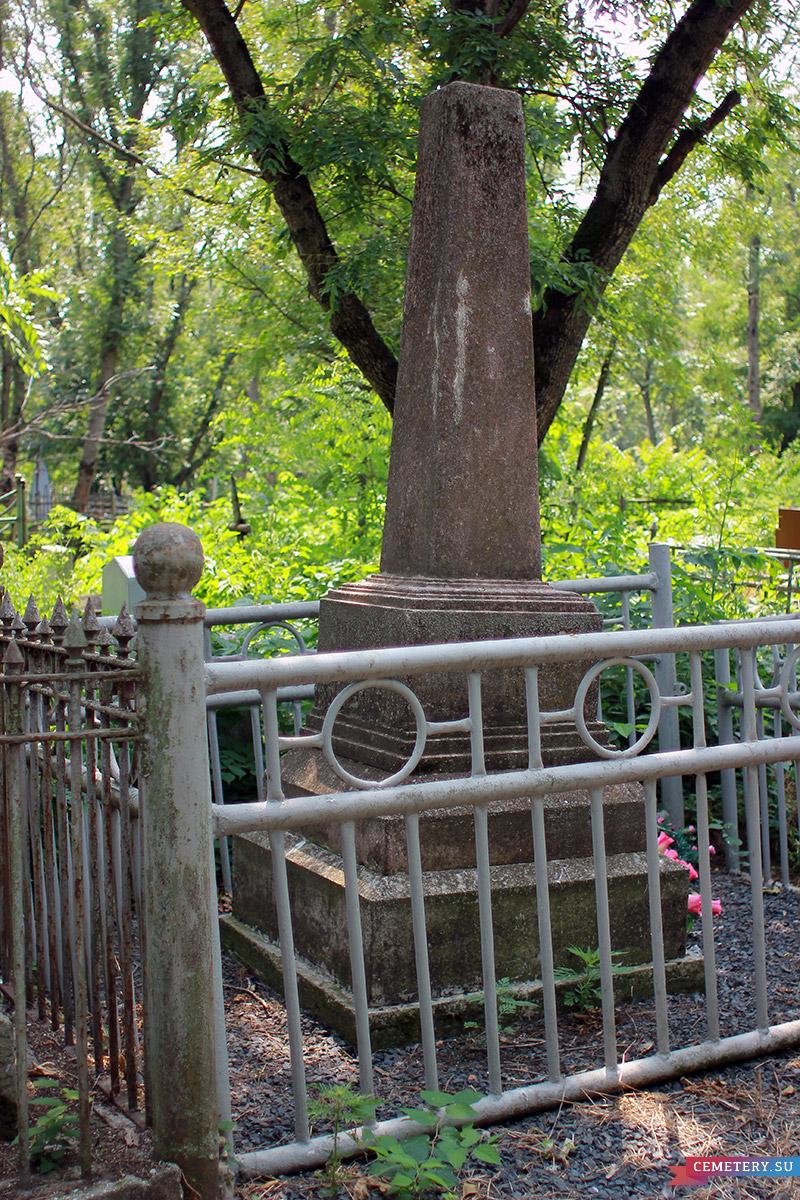 Старое кладбище Таганрога. А. И. Яхненко