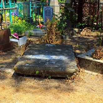 Старое кладбище Таганрога. Могила подростка-грека