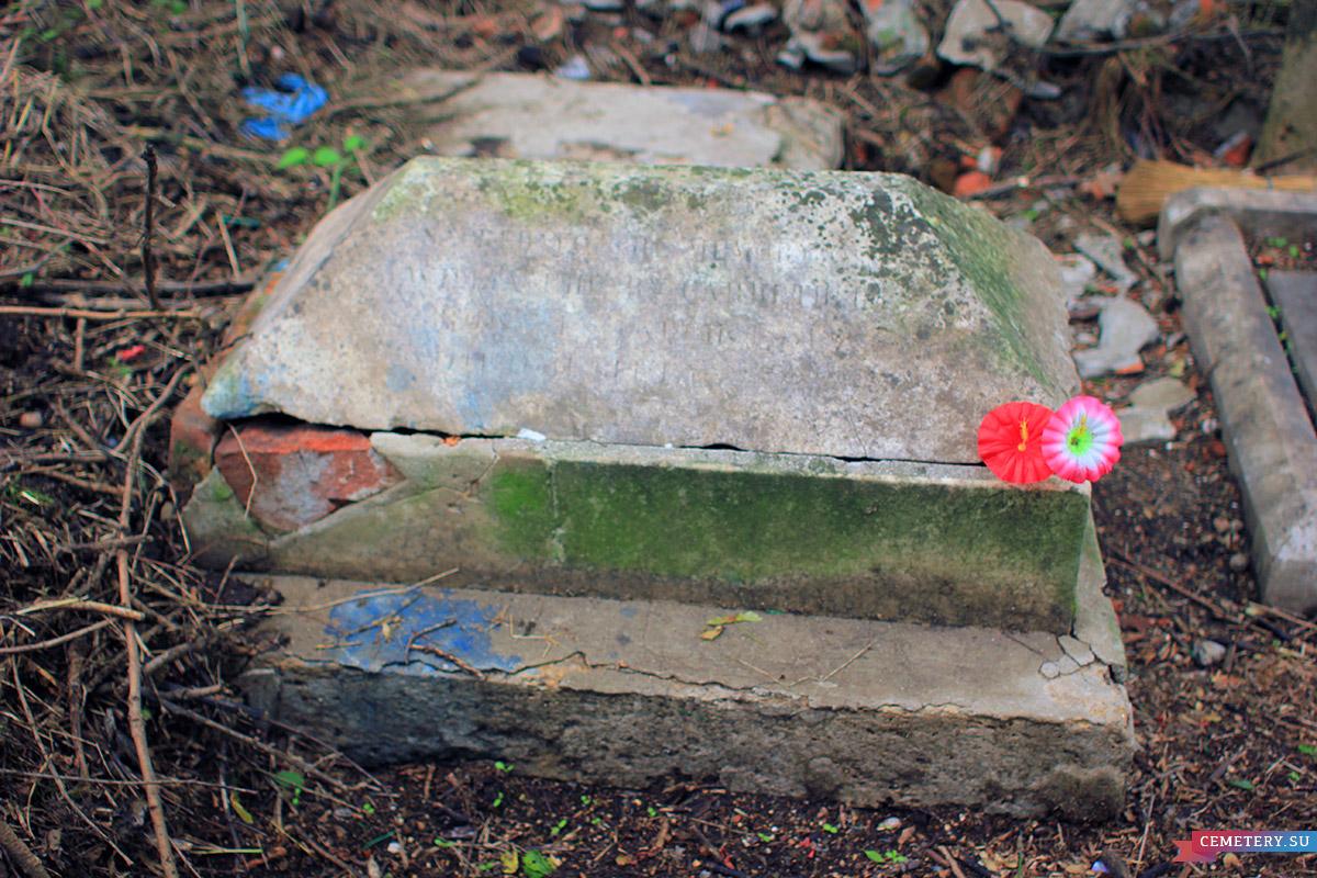 Старое кладбище Таганрога. Дети Карруттерс