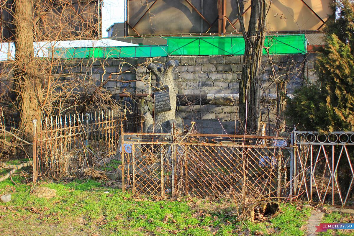 Старое кладбище Таганрога. Участок Ивановой, Поповых, Фесенко
