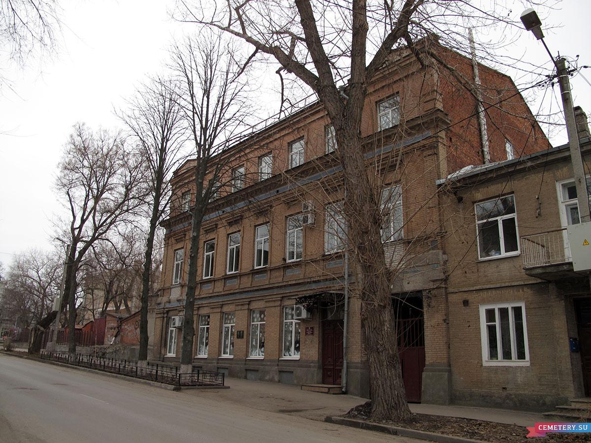 Старое кладбище Таганрога: Музыкальная школа (пер. Украинский, 8)