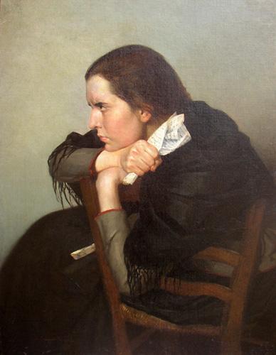 Старое кладбище Таганрога: Портрет художницы С. И. Блонской (1870-1947)