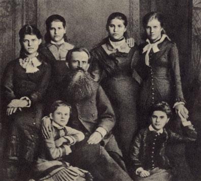Старое кладбище Таганрога: Семья нотариуса И. И. Блонского