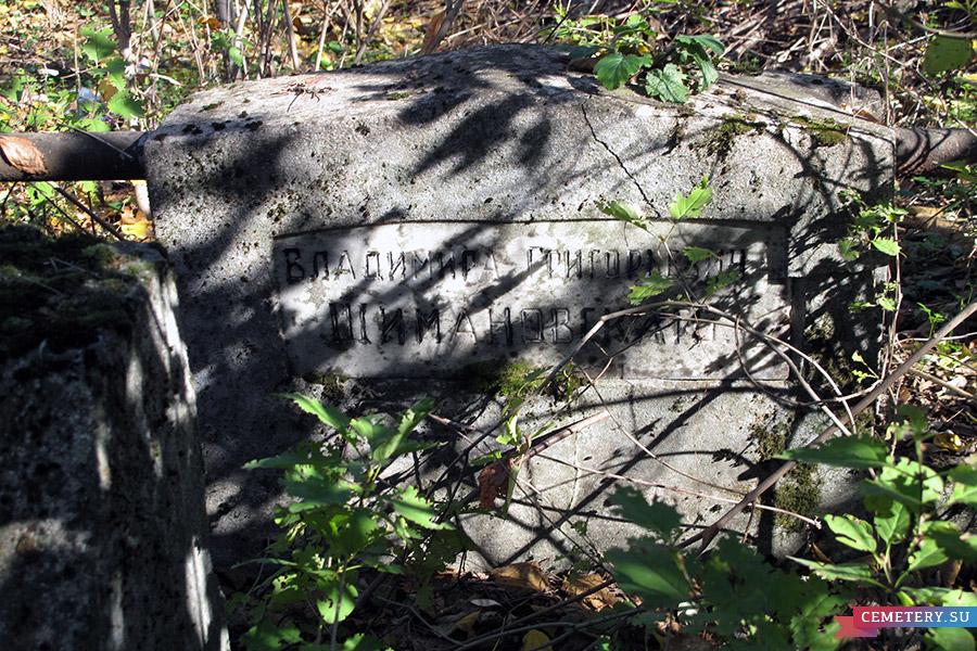 Старое кладбище Таганрога. Доктор В. Г. Шимановский