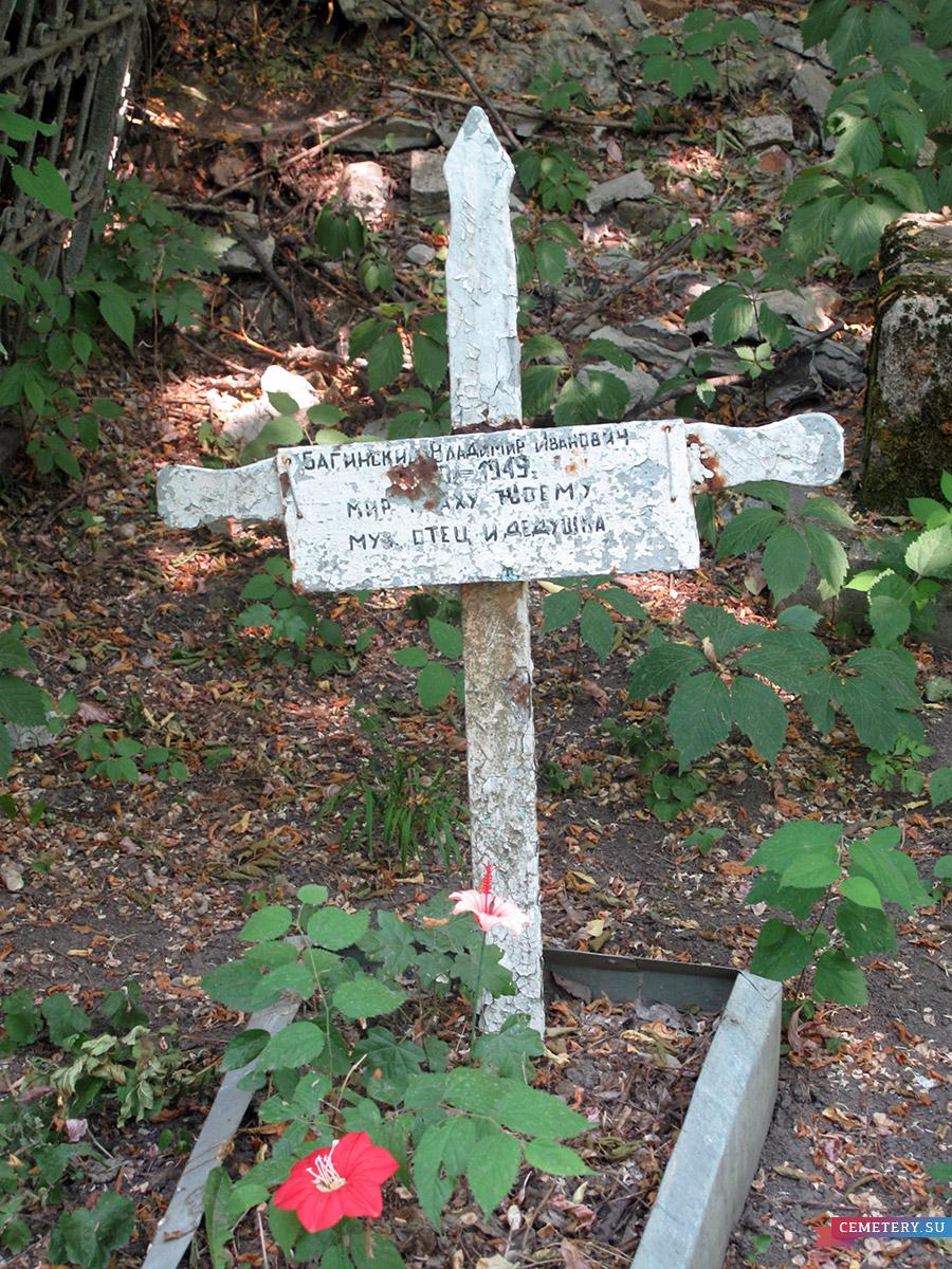 Старое кладбище Таганрога. Багинский В. И.