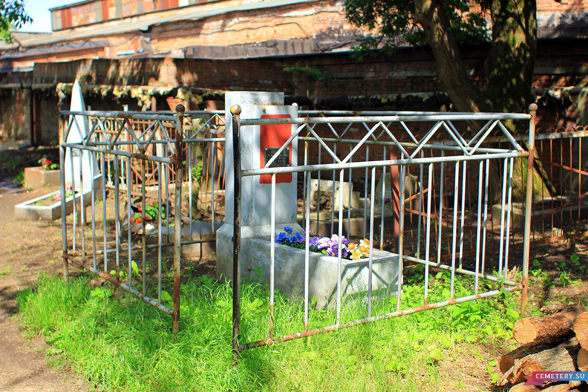 Старое кладбище Таганрога. Участок Анохина М. И.