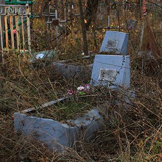 Старое кладбище Таганрога. Комнено-Варваци В. В. и его супруга