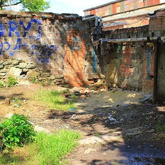 Старое кладбище Таганрога, Участок без памятников в углу