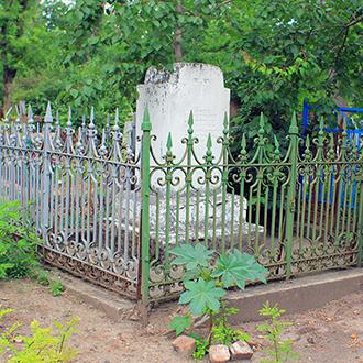 Старое кладбище Таганрога, Участок Гавриловой