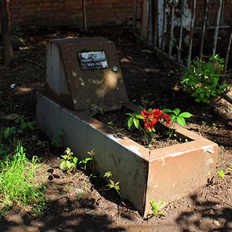 Старое кладбище Таганрога. Попов М. И.