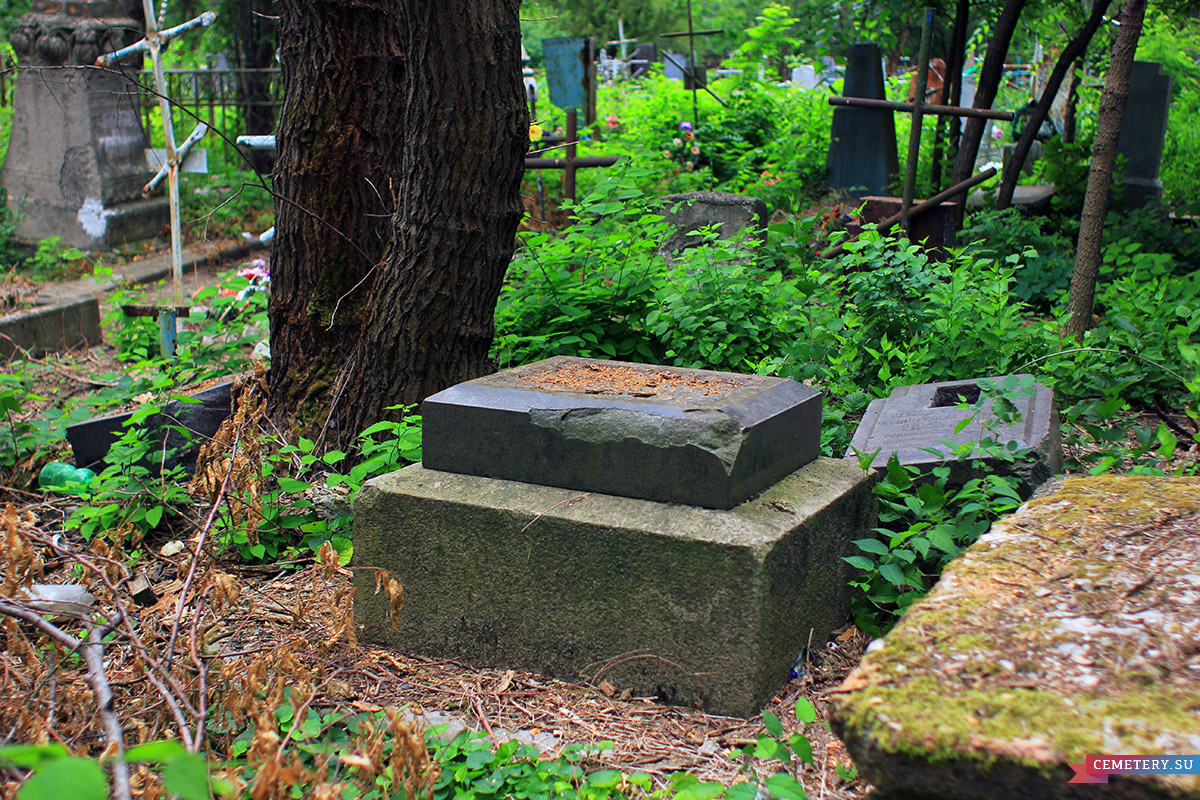 Старое кладбище Таганрога. Участок священника Одноралова
