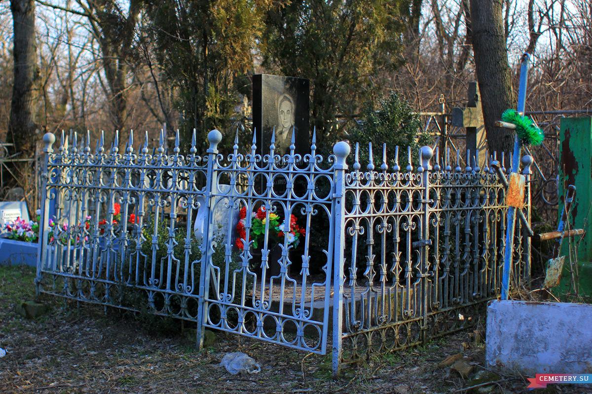 Старое кладбище Таганрога. Детский писатель И. Д. Василенко