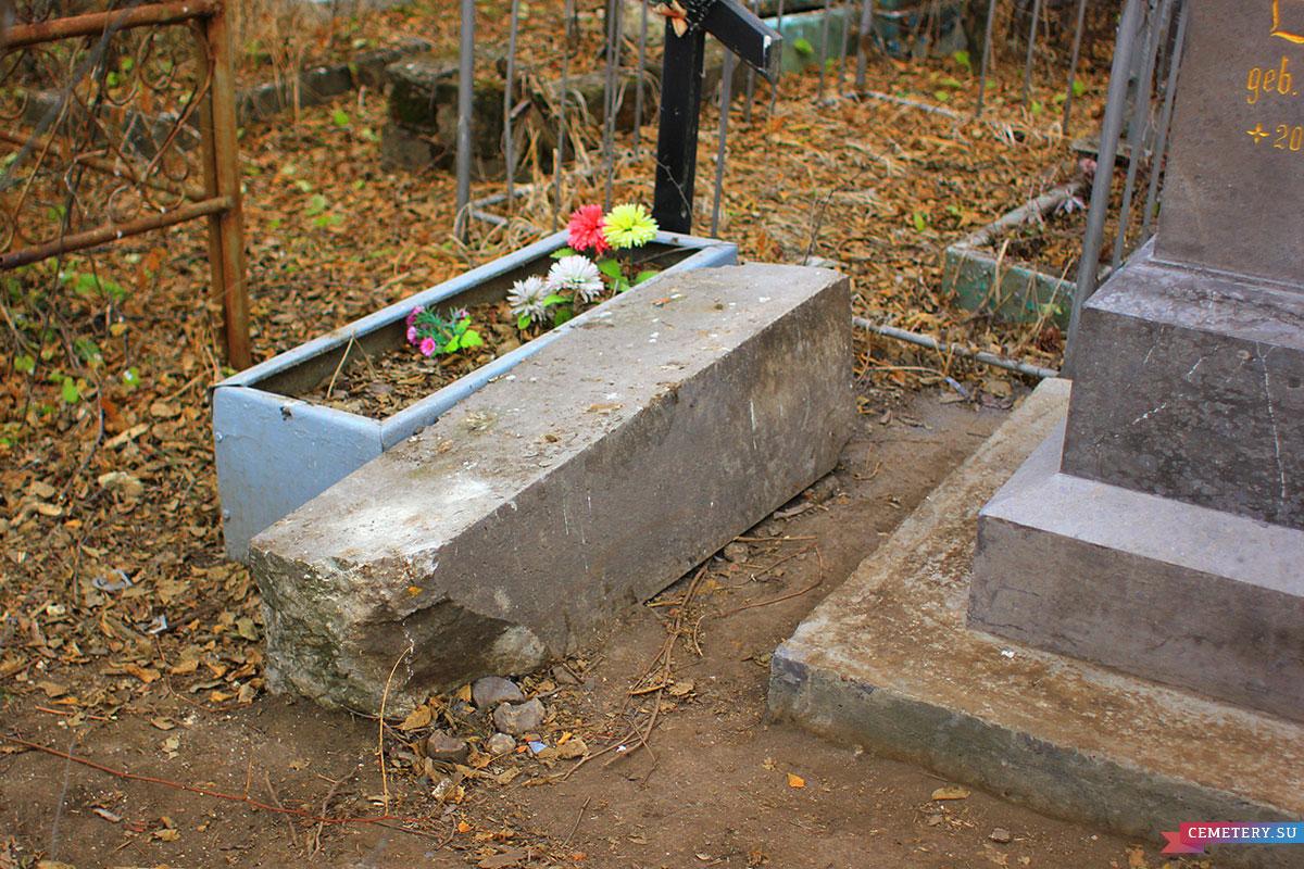 Старое кладбище Таганрога. Профессор Орбинский Р. В.