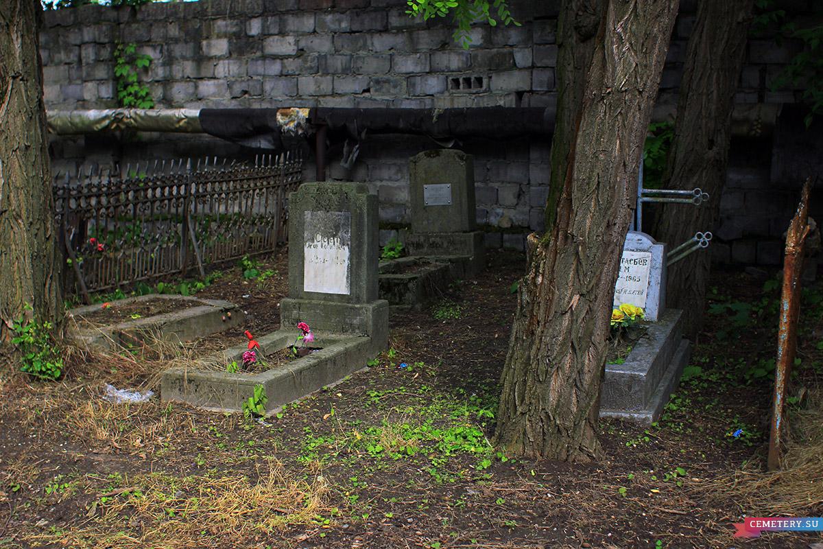 Старое кладбище Таганрога. Бабаян, Свет, Анастасьев