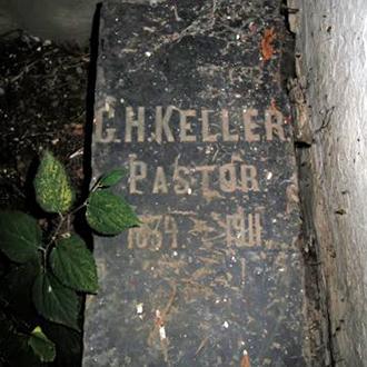 Старое кладбище Таганрога. Лютеранский пастор G. H. Keller