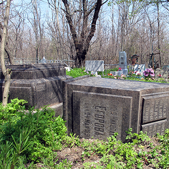 Старое кладбище Таганрога. Л. Н. Егорова