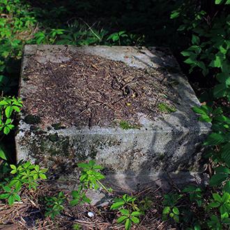Старое кладбище Таганрога. Постамент дореволюционный без о/з
