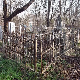 Старое кладбище Таганрога. Врач Воскресенский