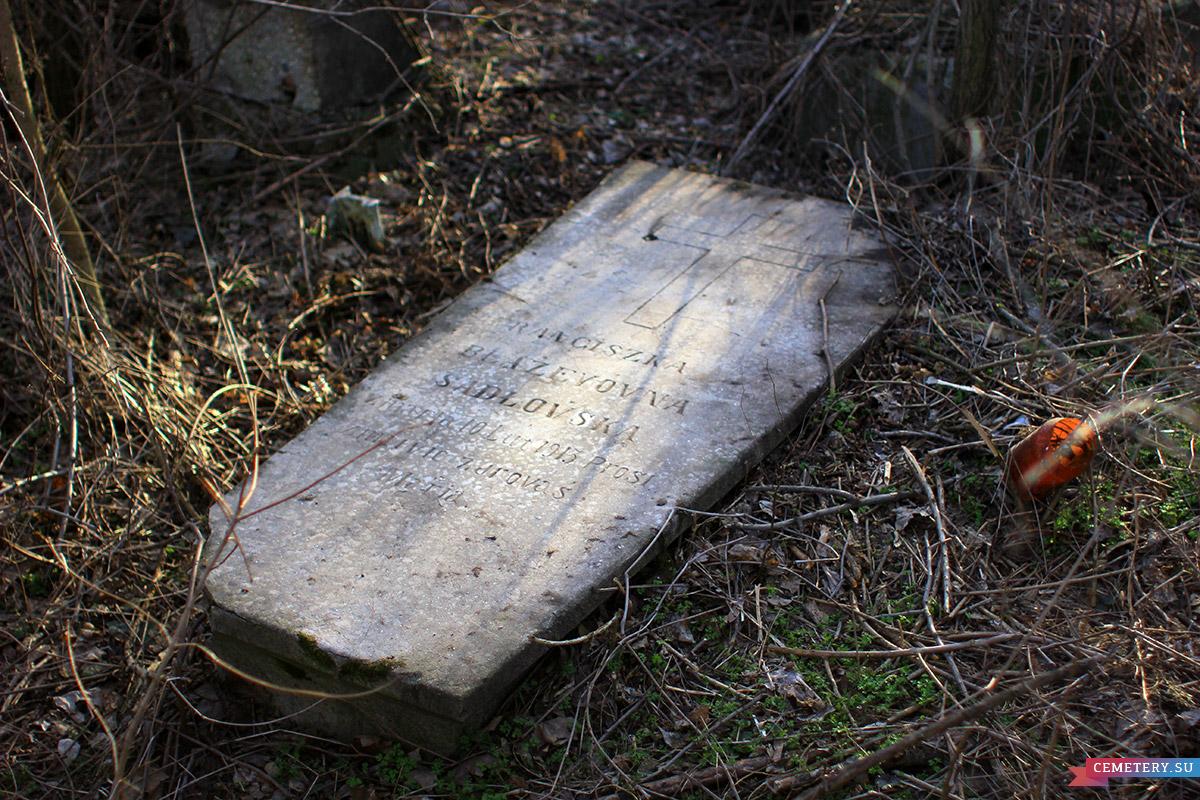 Старое кладбище Таганрога. Садловская