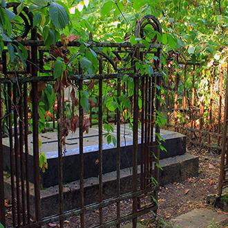 Старое кладбище Таганрога. Начальник таганрогского порта