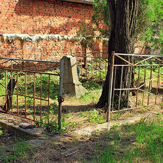 Старое кладбище Таганрога, Участок Бушак
