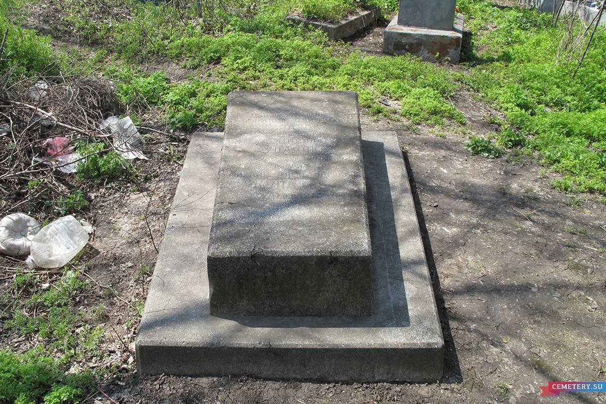 Старое кладбище Таганрога. Семейное захоронение Кулаковых