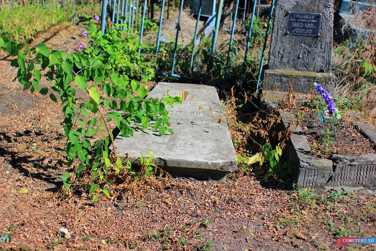 Старое кладбище Таганрога. И. М. Добудогло