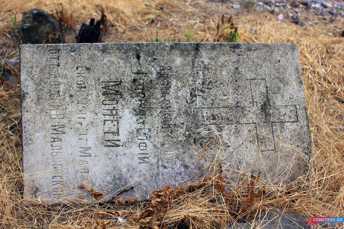 Старое кладбище Таганрога. Георгий и София Монети