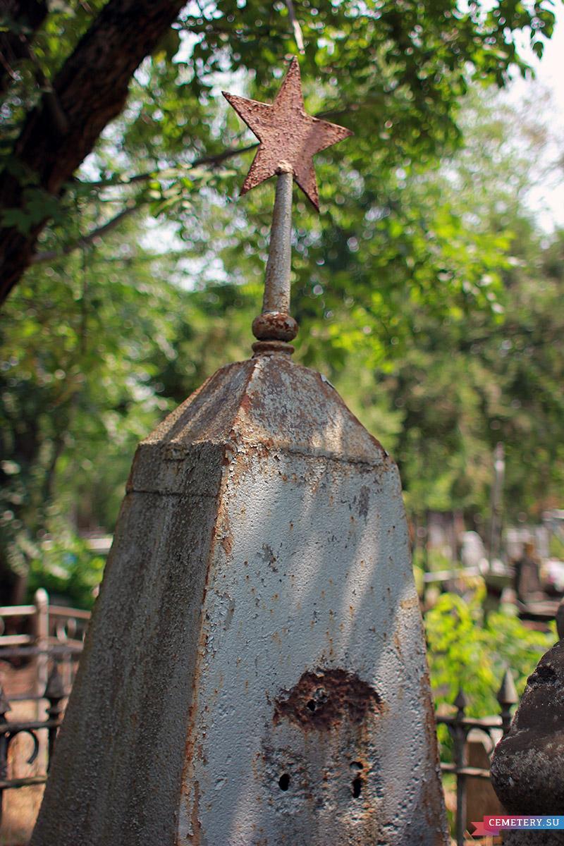 Старое кладбище Таганрога. Ф. В. Евминенко