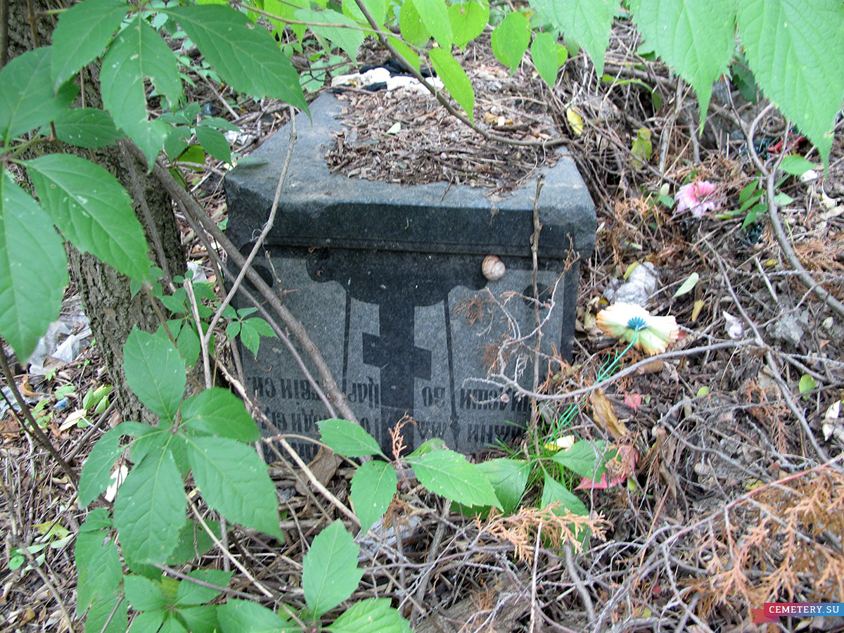 Старое кладбище Таганрога. И. Е. Кобылин